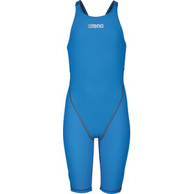 arena Powerskin St 2.0 Short Leg Open Full Body Swimsuit Meisjes, royal